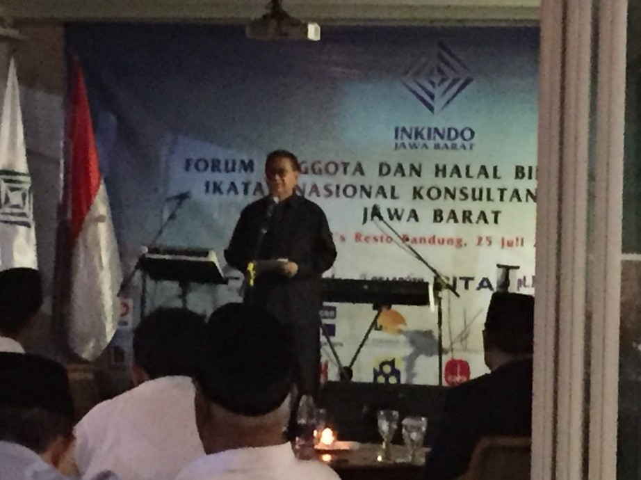 Speech of Vice Governor west java province